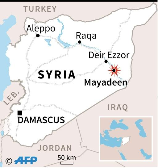 Coalition bombing in Syria (AFP Photo/AFP )