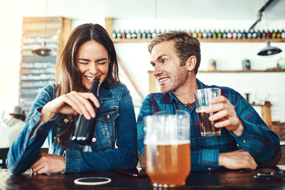 """<p>""""Feel free to offer to pay, but he might take you up on it. I think, depending on who you ask, a lot of people actually prefer to split the check on the first date now. But if you're expecting him to pay, that's fine, just don't say anything."""" — Mark, 26</p>"""