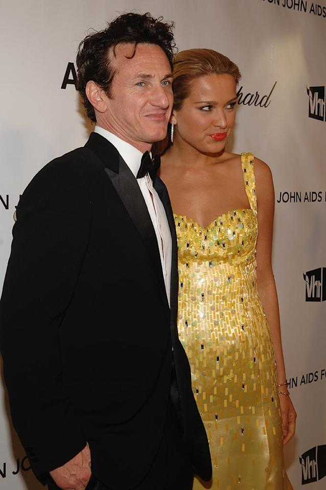 "<a href=""http://movies.yahoo.com/movie/contributor/1800019044"">Sean Penn</a> and Petra Nemcova attend the 16th Annual Elton John AIDS Foundation Oscar Party at the Pacific Design Center in West Hollywood - 02/24/2008"