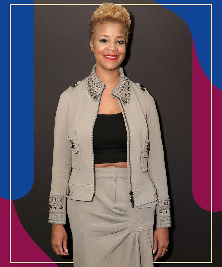 """NEW YORK, NY – FEBRUARY 06: CEO and Founder of Harlem's Fashion Row, Brandice N. Daniel attends IMG and Harlem Fashion Row Host """"Next Of Kin"""": An Evening Honoring Ruth E. Carter at Spring Studios on February 6, 2019 in New York City. (Photo by Anna Webber/Getty Images for IMG)"""