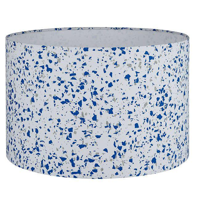 """<p><strong>House by John Lewis Terrazzo Lampshade, Cobalt, £18-£25, John Lewis</strong></p><p><a rel=""""nofollow"""" href=""""https://www.johnlewis.com/house-by-john-lewis-terrazzo-lampshade/p3165221"""">BUY NOW</a></p>"""
