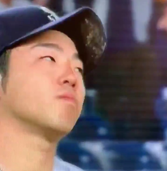 Seattle Mariners pitcher Yusei Kikuchi puts entire container of pine tar on his hat, nearly throws no-hitter