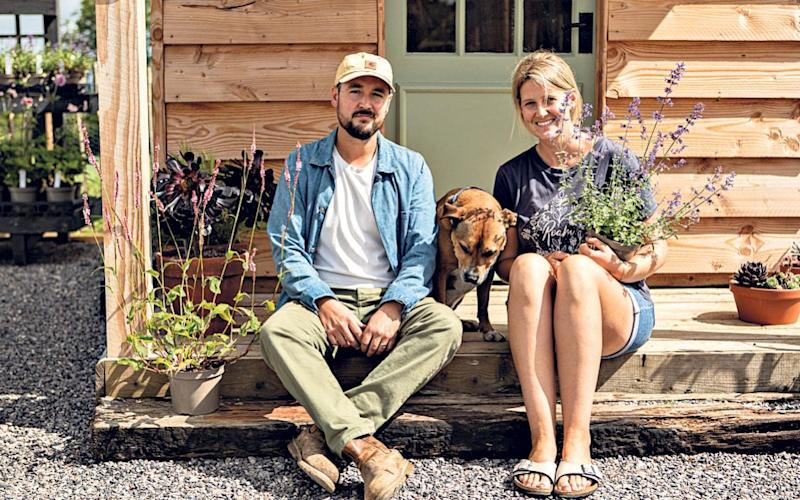Will and Lauren Holley of Blooming Wild in Horsington - Tory McTernan