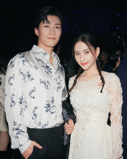 Laurinda and Shawn Dou have been dating since 2019