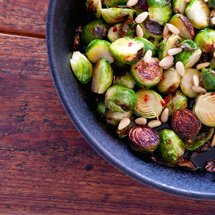 """<p>Yep brussels sprouts are not just confined to the Christmas dinner table. Did you know that Brussels sprouts contain more vitamin C than oranges? """"As they're in the cabbage family, they also contain protective glucosinolates, as well as sulphur compounds that can support detoxification,"""" explains Shona.<br></p><p>And there are other benefits to getting over your sprout fear too! """"They may also be supportive for hormone balancing, especially in women, because they contain a substance called indole-3-carbinol that has been found to balance oestrogen levels,"""" explains Dr Glenville.<br></p><p><b>Ramp-up your recipe:</b><br></p><p>Halve and steam your Brussels sprouts for about 5 minutes until just al dente (there's nothing worse than a limp sprout!) then top with grated cheese and grill until the cheese starts to turn golden.</p><p>Halve Brussels and put them in a large bag (e.g. freezer bag) with a tablespoon or two of olive oil, sea salt and pepper. Shake well to coat. Roast them in a single layer on a tray for around 20 to 25 minutes, shaking the tray once or twice in the middle of cooking.<br></p><p><i>[Photo: Getty]</i></p>"""