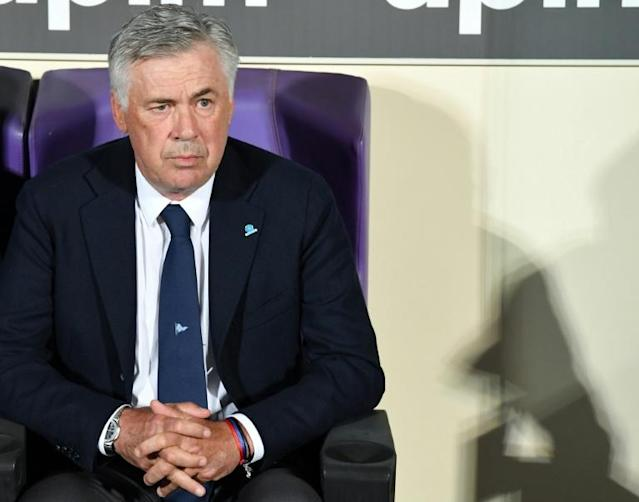 Carlo Ancelotti was appointed Napoli boss in May 2018 (AFP Photo/Andreas SOLARO)