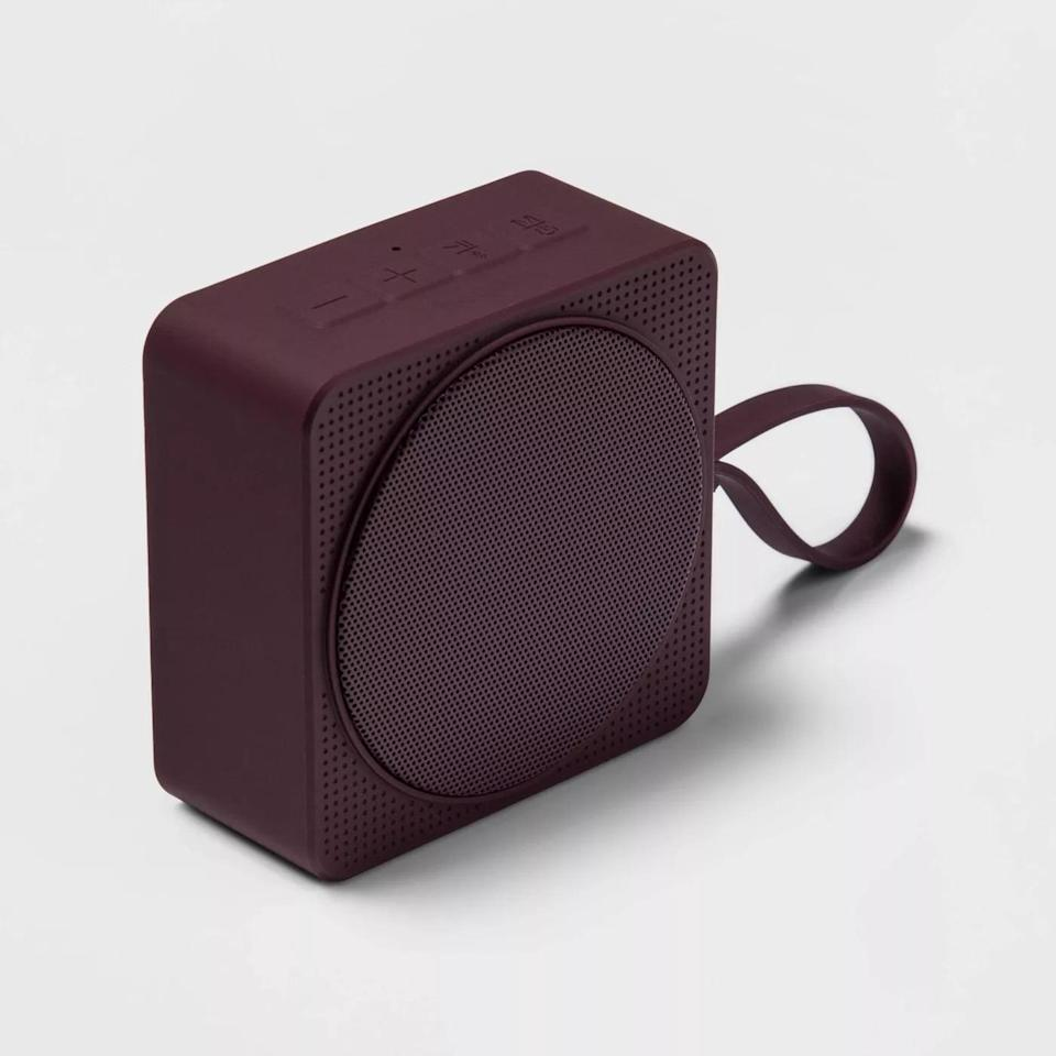 <p>Use this <span>Heyday Small Portable Bluetooth Speaker With Loop</span> ($20) on hiking adventures or even as a work-from-home desk speaker. It comes in two other colors including dark green, black</p>