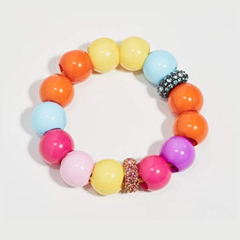 "This is technically a hair tie, but if you ask us, the colorful beads will look just as good on her wrist as in a messy bun. $98, Amazon. <a href=""https://www.amazon.com/Jennifer-Behr-Womens-Henley-Multi/dp/B08DP67R9L?s=shopbop&ref_=sb_ts"" rel=""nofollow noopener"" target=""_blank"" data-ylk=""slk:Get it now!"" class=""link rapid-noclick-resp"">Get it now!</a>"