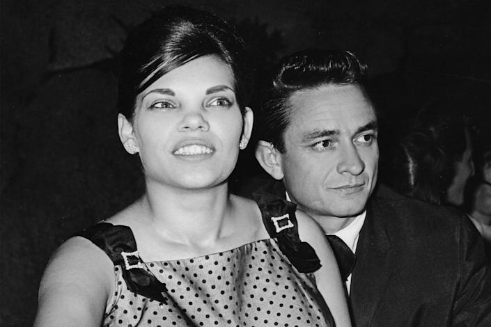 """Vivian and Johnny Cash from the documentary """"My Darling Vivian."""" <span class=""""copyright"""">(The Film Collaborative)</span>"""