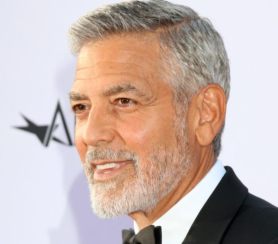 George Clooney at the American Film Institute Lifetime Achievement Award to George Clooney at the Dolby Theater on June 7, 2018 in Los Angeles, CA
