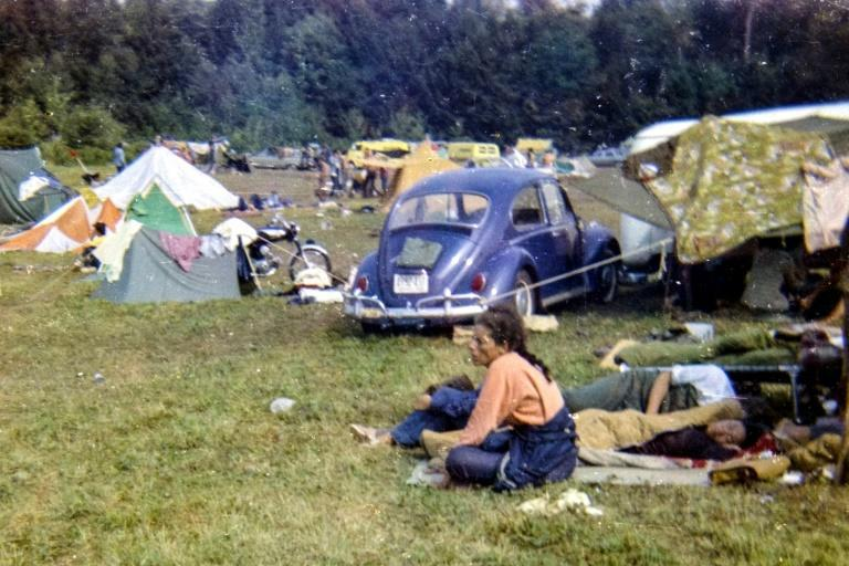 The 1969 Woodstock festival, celebrating its 50th anniversary this year, is often venerated as the cultural touchstone of a generation (AFP Photo/Annie BIRCH)