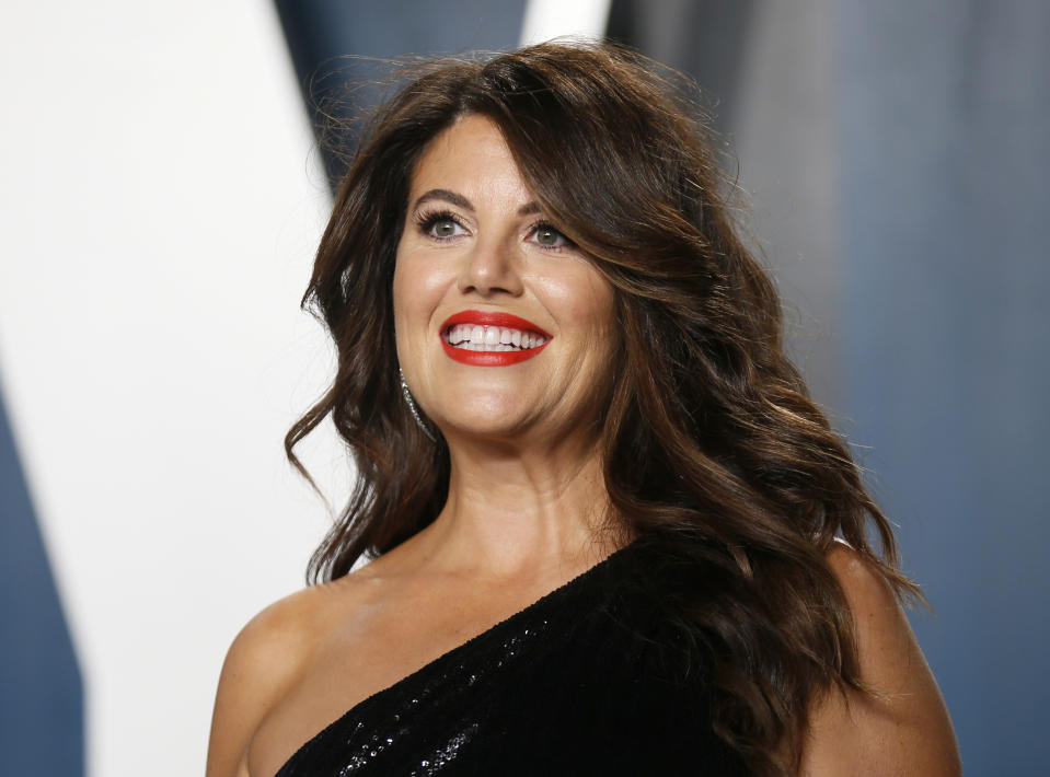 Monica Lewinsky poked fun at herself in the best way. (Photo: REUTERS/Danny Moloshok)