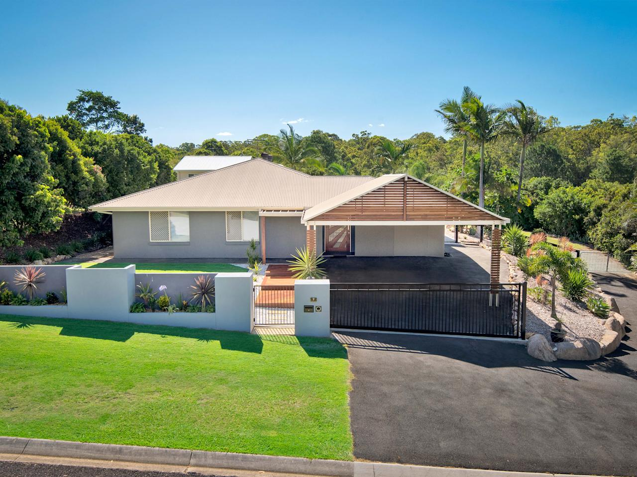 <p>The five-bed home also boasts a cinema, putting green and a hair salon. Vendor Craig Gormley snapped up the water flume from Gumtree in 2016 after it was sold off by a nearby family attraction called The Woolshed. </p>