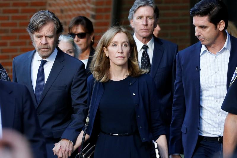 Actress Felicity Huffman released early from U.S. college scandal sentence