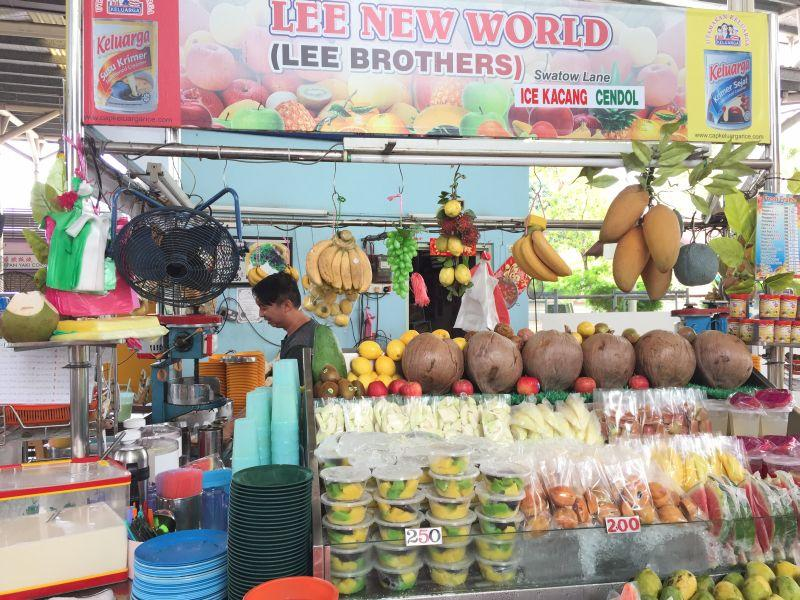 Swatow Lane ice kacang stall to stay open at New World Park
