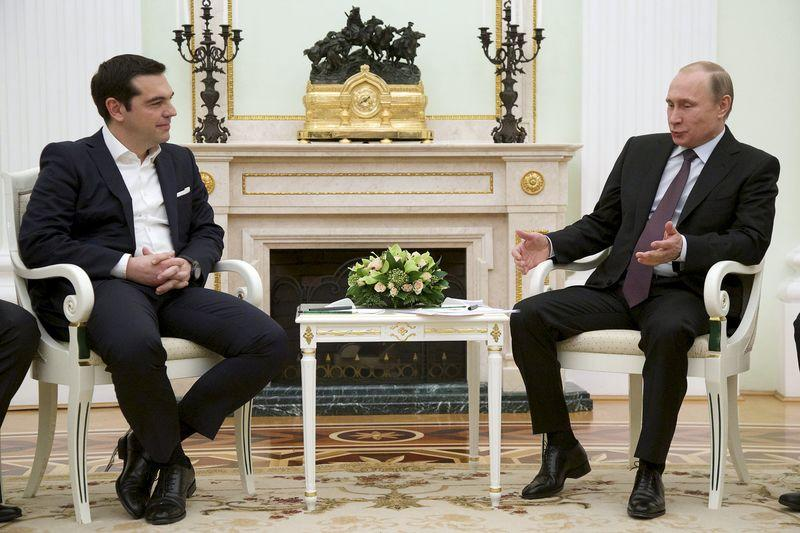 Greek Pm Gets Support Not Money From Putin