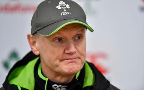 Joe Schmidt will have to do without several key players today - Credit: Brendan Moran/Sportsfile
