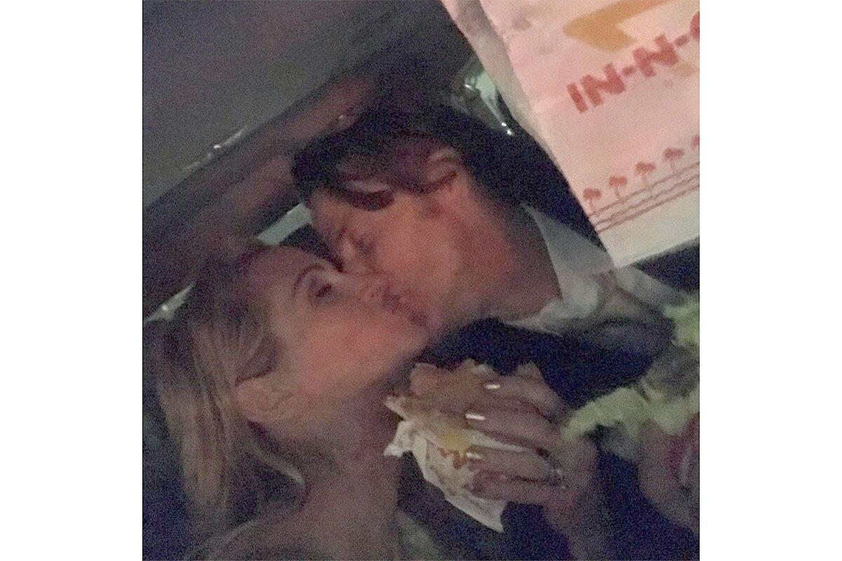 """Even though she didn't take home an award at the <a href=""""https://people.com/tag/golden-globe-awards/"""">2019 Golden Globes</a>, the<em> Homecoming</em>actress still had a great end to her night. """"Fun Night W My Fella,"""" the <a href=""""https://people.com/tag/julia-roberts/"""">Oscar winner</a> captioned the photo kissing her husband, Daniel Moder. """"Congratulations to All! And to all a good (burger) night."""""""