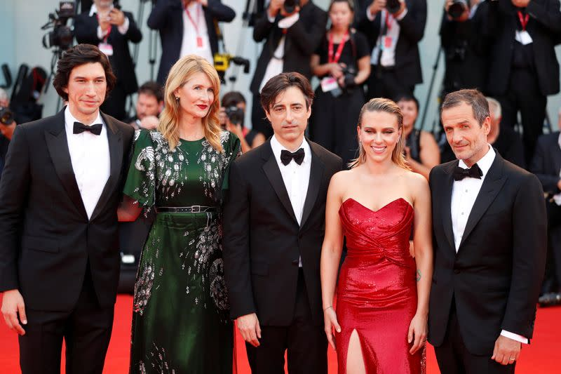 """FILE PHOTO: 76th Venice Film Festival - Screening of the film """"Marriage Story"""" in competition - Red carpet arrivals"""