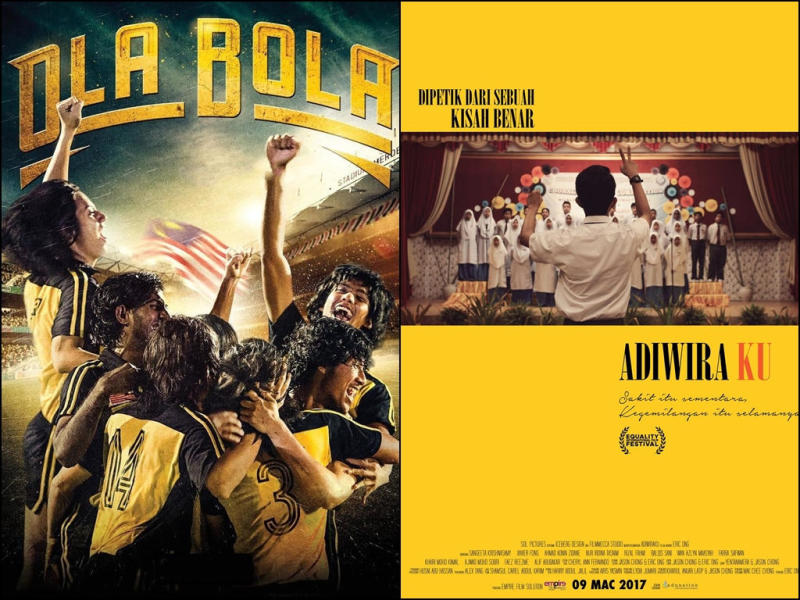 'Ola Bola' and 'Adiwiraku' are among the local releases that iQIYI will be releasing in Malaysia this month.