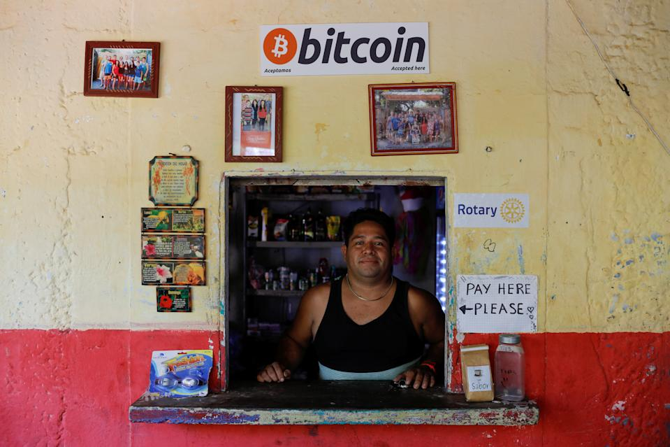 The Central American country plans to use bitcoin as a parallel legal tender alongside the US dollar, which has also been touted as a remittance currency for Salvadorans overseas. Photo: Jose Cabezas/Reuters