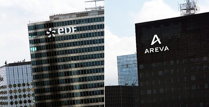 The French presidency on Wednesday endorsed merging Areva's reactor-building unit with state-owned electricity company EDF (AFP Photo/Loic Venance)