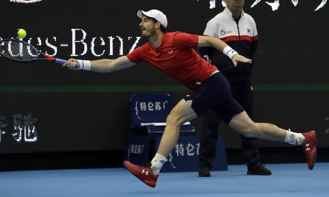 Andy Murray has shown encouraging form and fitness in Asia (Mark Schiefelbein/AP)