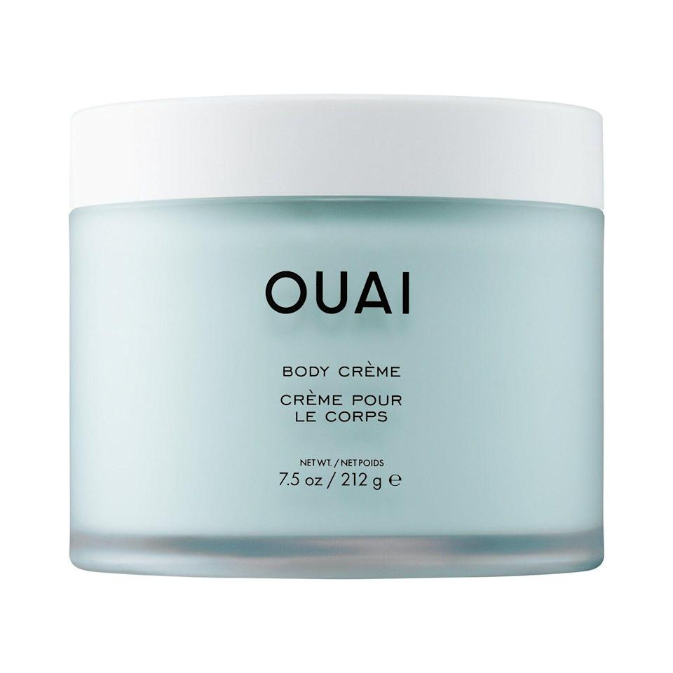 """<p><strong>Ouai</strong></p><p>sephora.com</p><p><strong>$38.00</strong></p><p><a href=""""https://go.redirectingat.com?id=74968X1596630&url=https%3A%2F%2Fwww.sephora.com%2Fproduct%2Fbody-creme-P449774&sref=https%3A%2F%2Fwww.redbookmag.com%2Fbeauty%2Fg35003747%2Fbody-lotions-with-the-best-scent%2F"""" rel=""""nofollow noopener"""" target=""""_blank"""" data-ylk=""""slk:Shop Now"""" class=""""link rapid-noclick-resp"""">Shop Now</a></p><p>Celebrity hair stylist Jen Atkin has taken over our hair styling tools, now she's coming for body care, too. This fast-absorbing lotion contains a clean formula of hydrating ingredients like cupuaçu butter, coconut oil, and squalene. Like all of Ouai's products, it smells good enough to eat with citrus, rose, violet, white musk, and warm spices mixed in.</p>"""