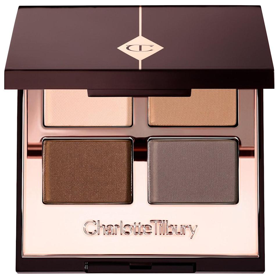 "<p><strong>Charlotte Tilbury</strong></p><p>sephora.com</p><p><strong>$53.00</strong></p><p><a href=""https://go.redirectingat.com?id=74968X1596630&url=https%3A%2F%2Fwww.sephora.com%2Fproduct%2Fluxury-eyeshadow-palette-P433523&sref=https%3A%2F%2Fwww.townandcountrymag.com%2Fstyle%2Fg35203959%2Fbest-makeup-for-work-looks%2F"" rel=""nofollow noopener"" target=""_blank"" data-ylk=""slk:Shop Now"" class=""link rapid-noclick-resp"">Shop Now</a></p>"