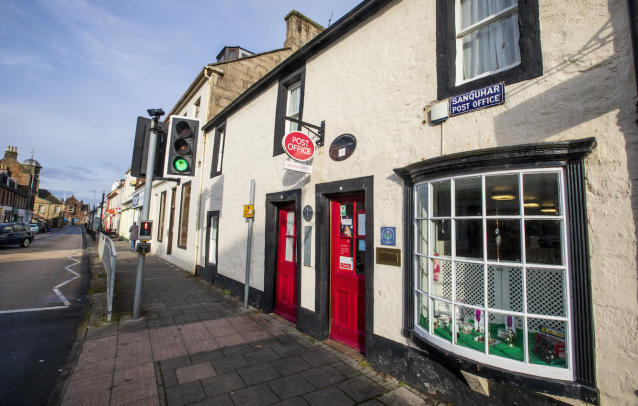 The Sanquhar post office in Dumfries and Galloway is the oldest in the world (Picture: SWNS)