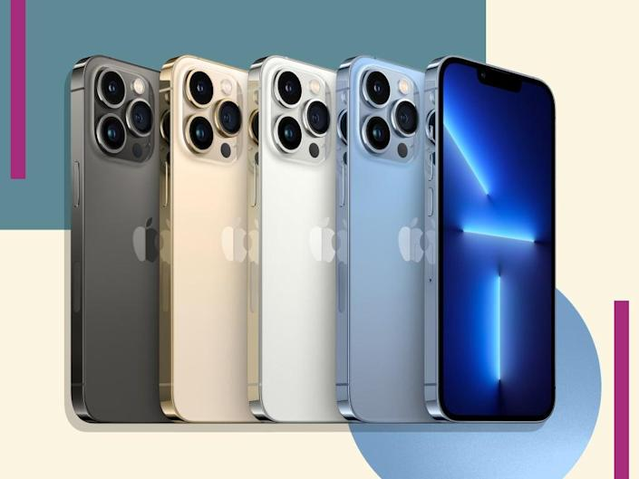 Updates include the first 120Hz display for the brand, 5G and a ceramic shield that makes the screen more drop-resistant  (iStock/The Independent)