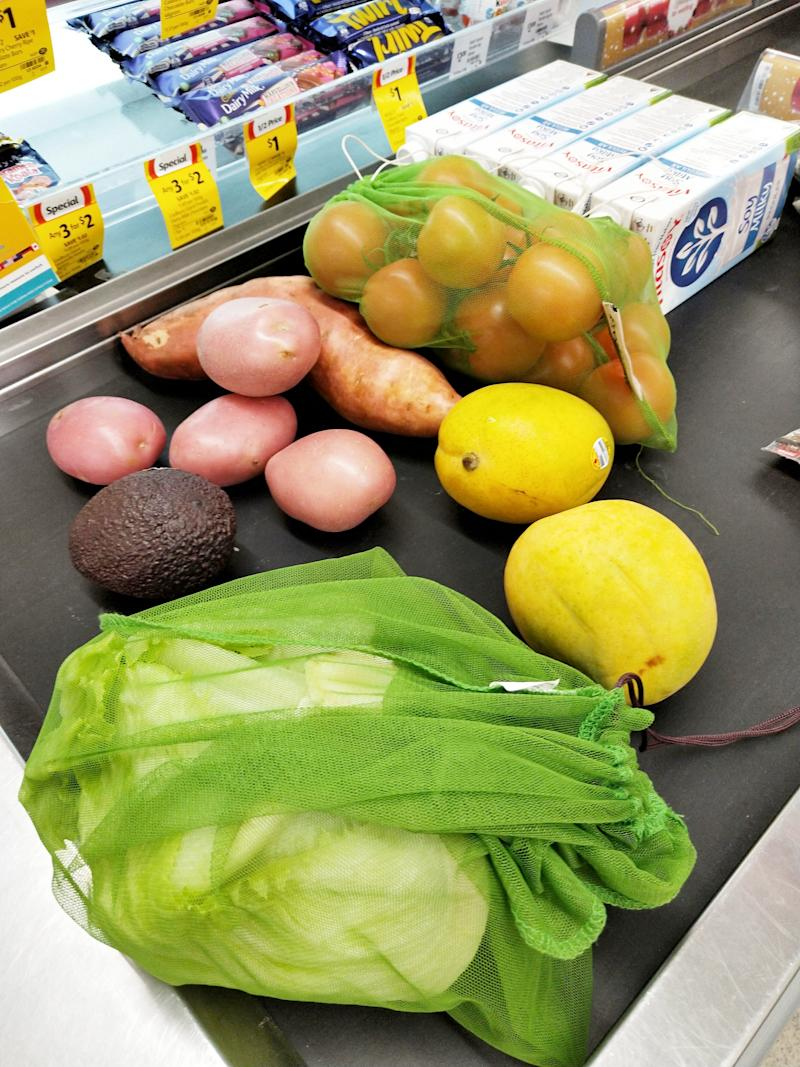 People should be shopping without plastic produce bags, Anita Horan says.