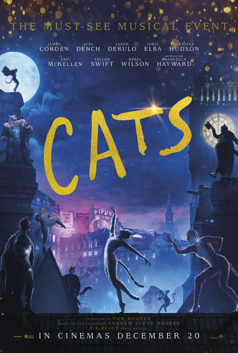 The claws have been out for Cats. (Universal)