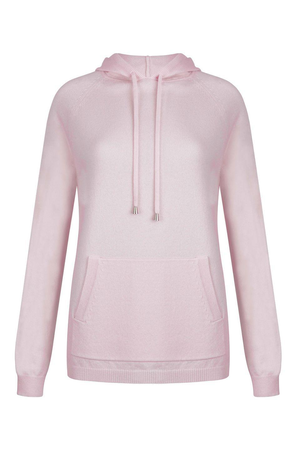 "<p><a class=""link rapid-noclick-resp"" href=""https://www.louisekennedy.com/products/suri-pink-hoodie/"" rel=""nofollow noopener"" target=""_blank"" data-ylk=""slk:SHOP NOW"">SHOP NOW</a></p><p>Another sure upgrade for your loungewear collection is to embrace cashmere. This baby pink hoodie from Louise Kennedy would be a perfect choice, whether you are layering it up or pairing it with the <a href=""https://www.louisekennedy.com/products/serena-knit-trousers-pink/"" rel=""nofollow noopener"" target=""_blank"" data-ylk=""slk:matching joggers"" class=""link rapid-noclick-resp"">matching joggers</a> for a day working from home.</p><p>Hoodie, £795, Louise Kennedy</p>"