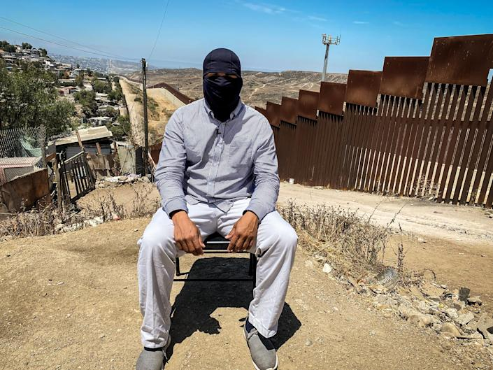 Daniel arrived alone to a border city after escaping from his kidnappers in Villahermosa, Tabasco in Aug. 2021. (Noticias Telemundo Investiga)