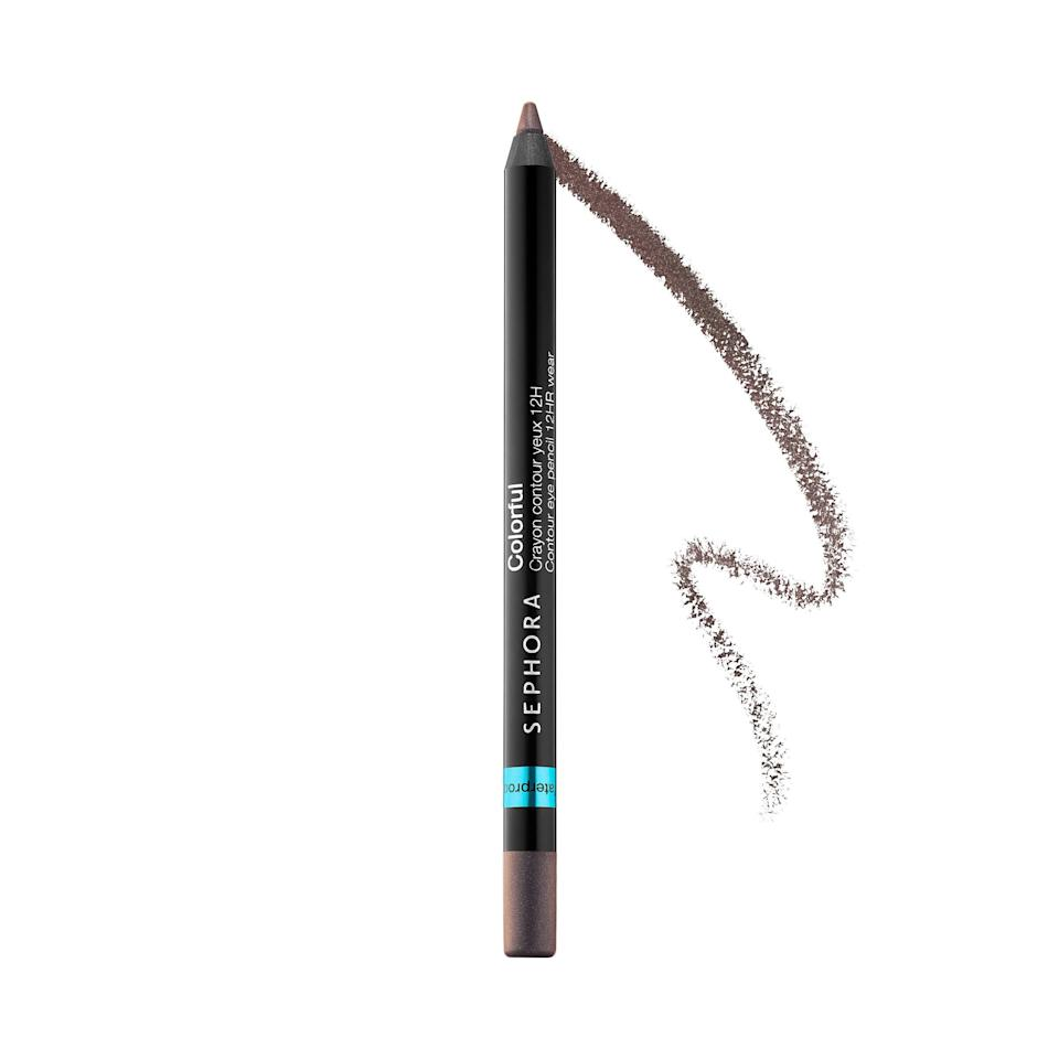"<p><strong>Best Neutral: Taupey Brown</strong></p> <p>Even if you're tempted to stick with dark brown, use a taupe or champagne to intensify your gaze.</p> <p><strong>TRY:</strong> <strong>Sephora Collection</strong><strong>12hr Colorful Contour Eyeliner in ""Flirting Game"" ($10); </strong><a href=""https://click.linksynergy.com/deeplink?id=93xLBvPhAeE&mid=2417&murl=https%3A%2F%2Fwww.sephora.com%2Fproduct%2Fwaterproof-contour-eye-pencil-P377784%3Ficid2%3Dproducts%2520grid%3Ap377784%26skuId%3D1473883&u1=SL%2CRX_1706_EyelinerforYourEyeColor_BlueEyesTaupe%2Crellis1271%2CSOU%2CIMA%2C362787%2C201908%2CI"" target=""_blank"">sephora.com</a></p>"
