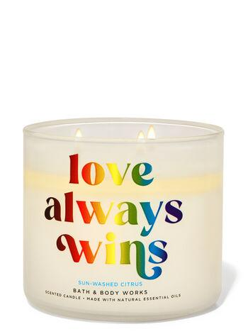 Bath & Body Works SUN-WASHED CITRUS 3-Wick Candle