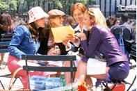 """<p>Revolutionary for its time, I couldn't help but wonder... <em>could this list ever include Sex and the City outside of the top five</em>? That's a hard no. The adventures of Carrie, Samantha, Miranda, and Charlotte defined a generation and set up the idea that a show about women could be just a risqué as anything else on television.</p><p><a class=""""link rapid-noclick-resp"""" href=""""https://play.hbonow.com/series/urn:hbo:series:GVU2cAAPSJoNJjhsJATt6?camp=Search&play=true"""" rel=""""nofollow noopener"""" target=""""_blank"""" data-ylk=""""slk:Watch Now"""">Watch Now</a></p>"""