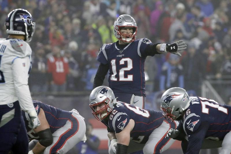 New England Patriots quarterback Tom Brady has indicated he wants to keep playing. (AP Photo/Elise Amendola)