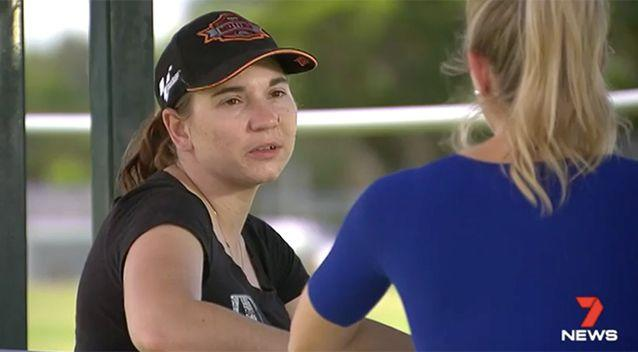 Amalia Young says she now suffers permanent brain damage. Source: 7 News