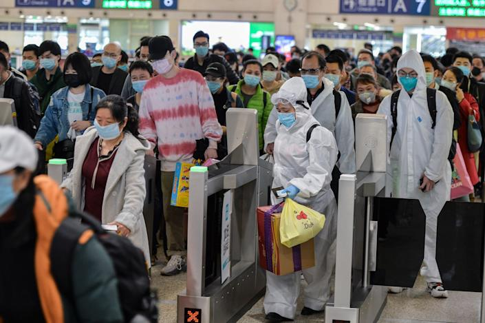 Wuhan travel ban lifted