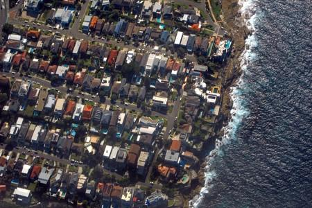 FILE PHOTO: Houses located in the Sydney suburb of Coogee can be seen along the coastline in Australia