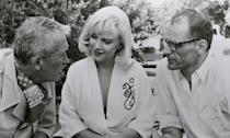 <p>This film was written by Marilyn Monroe's husband of four years, playwright Arthur Miller, as a vehicle for her to lead but it only ended up causing friction in their marriage. They argued on set over his constant rewrites and the fact that she thought the male characters were better written than her own. They divorced not long after the shoot, in 1961, and she died a year after its release, but it's still considered by many her best performance. </p>