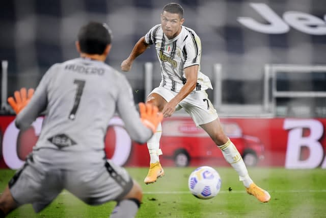 Cristiano Ronaldo was on the scoresheet as Juventus made a winning start to their bid for a 10th successive Serie A title