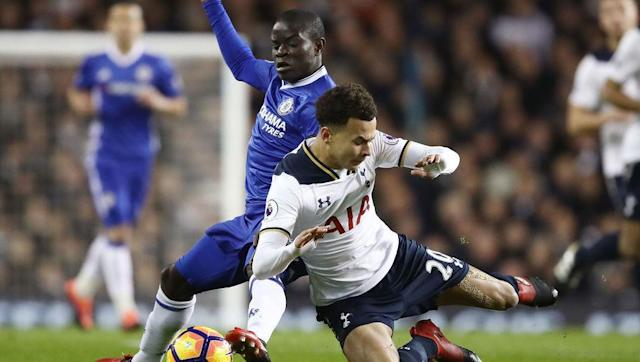 <p>The potential Player of the Year verses the potential Young Player of the Year. </p> <br><p>Dele Alli scored a brace when the sides last met at White Hart Lane in January, as Tottenham prevented Chelsea breaking the all-time record for most consecutive wins in the Premier League. The Three Lions youngster has been in sensational form since, with comparisons made to Blues' legend Frank Lampard. </p> <br><p>N'Golo Kante has been exceptional this season, his performances have released the likes of Eden Hazard to return to his best form. Chelsea will need the tireless Frenchman to be at his destructive best if they are to shackle Tottenham's main man. </p>