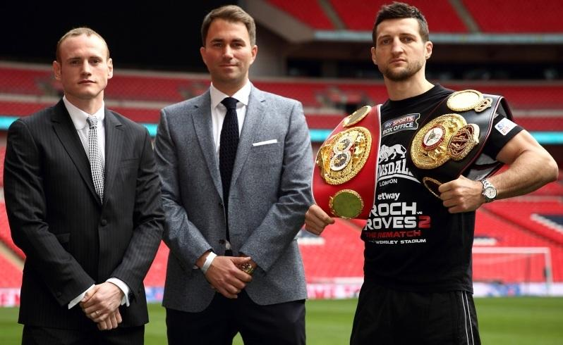 80,000 fans set for Froch-Groves boxing rematch