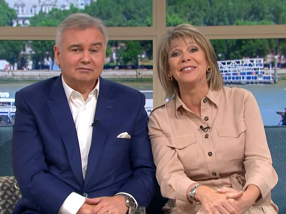 Holmes and Langsford on This Morning (ITV)
