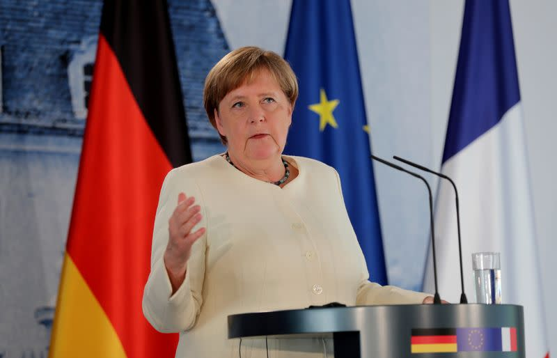"Merkel's mission for EU presidency: ""Make Europe strong again"""