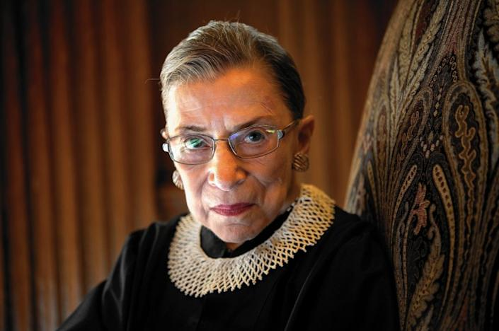"Supreme Court Justice Ruth Bader Ginsburg. <span class=""copyright"">(Nikki Kahn / Washington Post/Getty)</span>"
