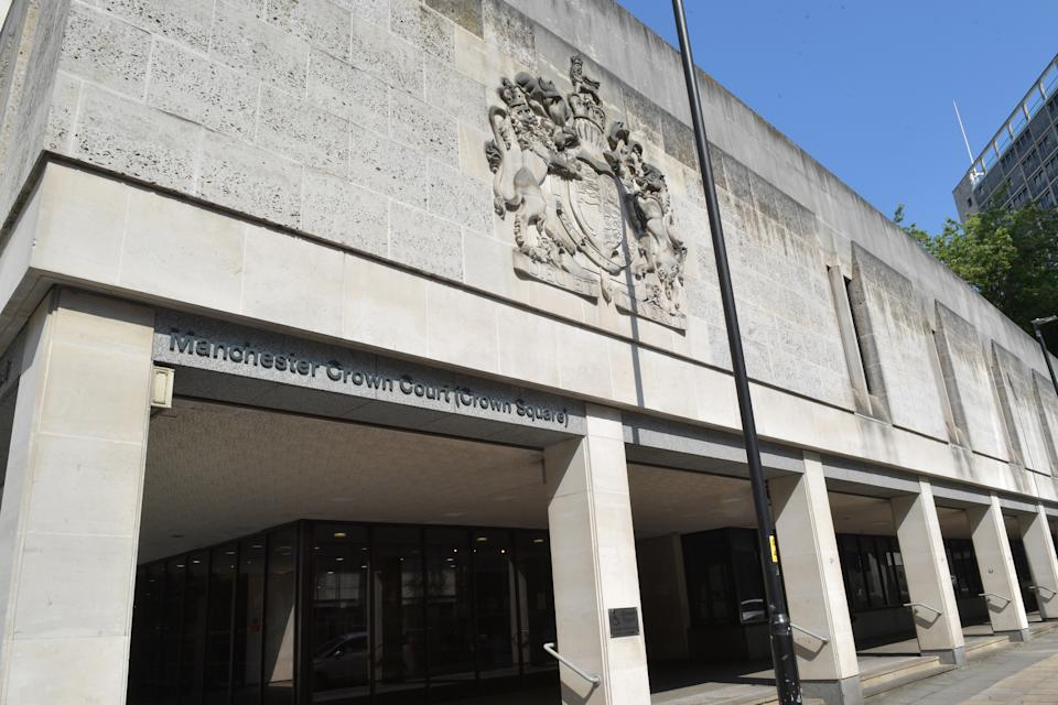 File photo dated 25/07/19 of Manchester Crown Court (Crown Square) in central Manchester, which will remain closed this week after six staff members tested positive for coronavirus.
